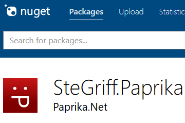 My package on NuGet